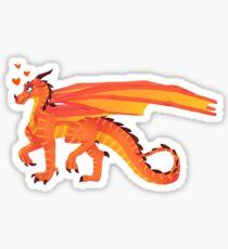 Wings of Fire Peril Sticker Sticker