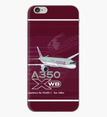 A350 QATAR  iPhone Case