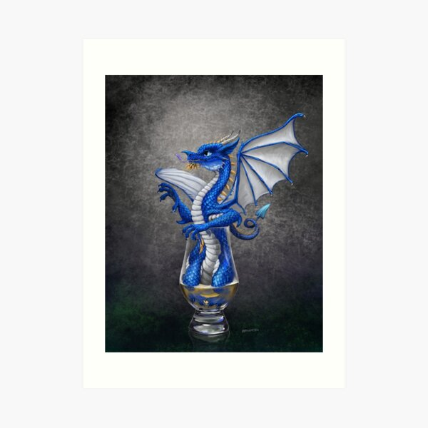 Scotch Dragon Art Print