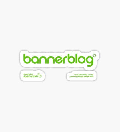 Bannerblog Standard T-Shirt #2 Sticker
