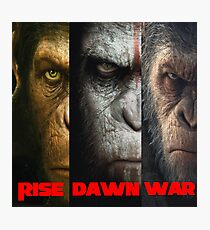 Rise, Dawn, War - Planet of the Apes Photographic Print