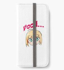 Fate Saber Sticker iPhone Wallet/Case/Skin