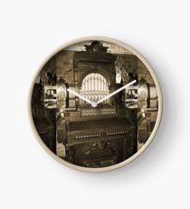 Old Pipe Organ Clock