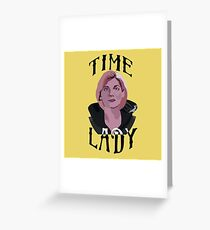 Doctor Who-Thirteen: Some of Us Can Afford the Upgrade (Pink) Greeting Card