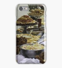 Catered Foods iPhone Case/Skin