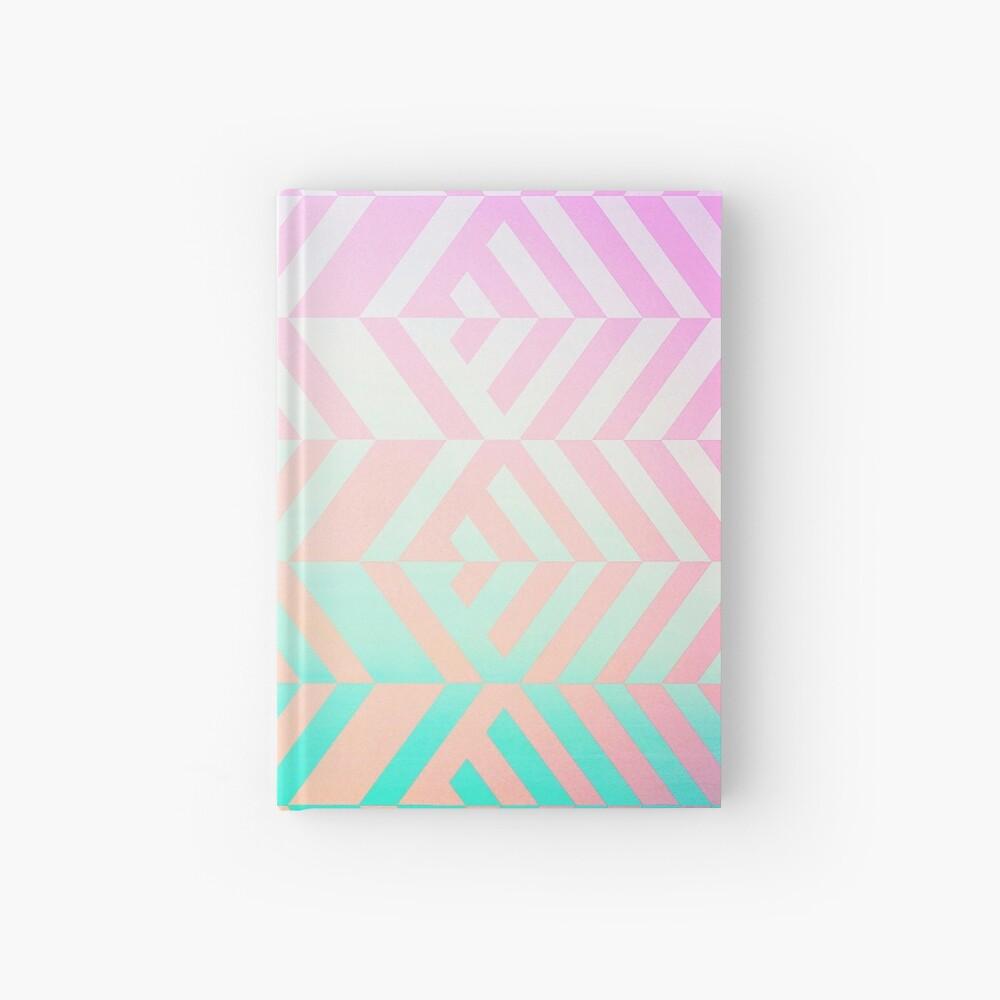 Chevron pattern Hardcover Journal