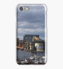 Baltimore Skyline At Dusk  iPhone Case/Skin