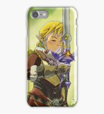 Claiming the Master Sword iPhone Case/Skin