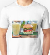 Gourmet Burger and Smoothies Unisex T-Shirt