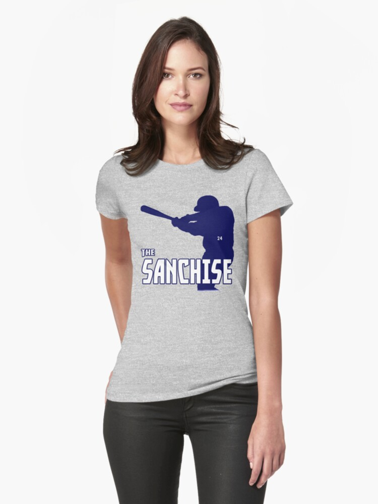 Gary Sanchez Tribute Design (Assorted Products) Womens T-Shirt Front