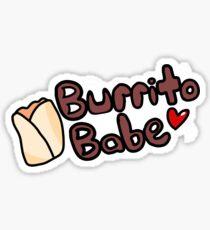 Burrito Babe Sticker