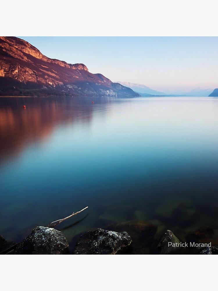 Last light on Bourget lake by patmo