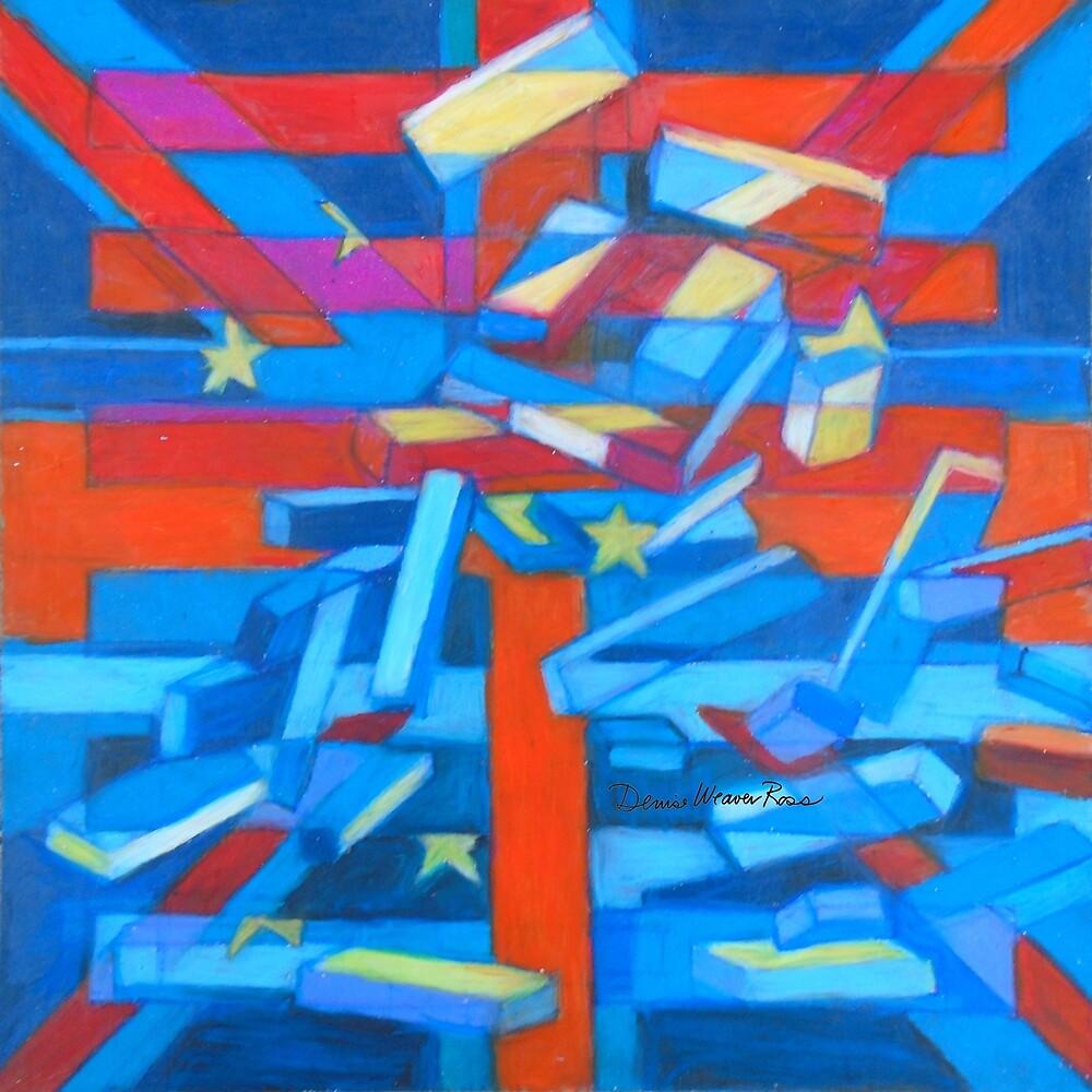 Hexagram 12: P'i (Dissolution) by Denise Weaver Ross