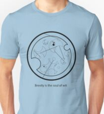 Gallifreyan - Brevity is the soul of wit T-Shirt