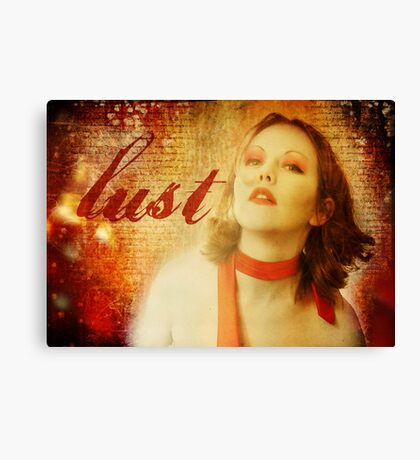 Lust Canvas Print