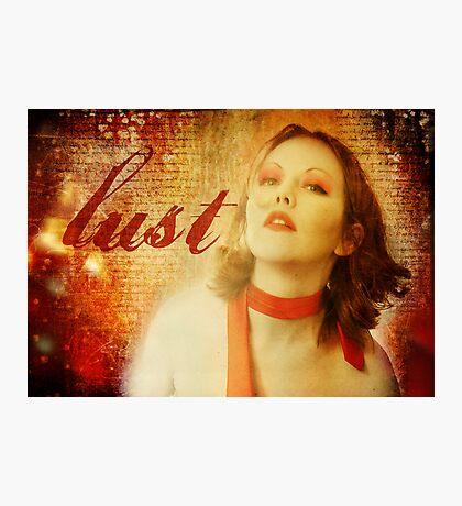 Lust Photographic Print