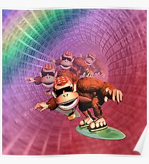 Funky kong Poster