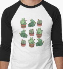 Cactus Cats Men's Baseball ¾ T-Shirt
