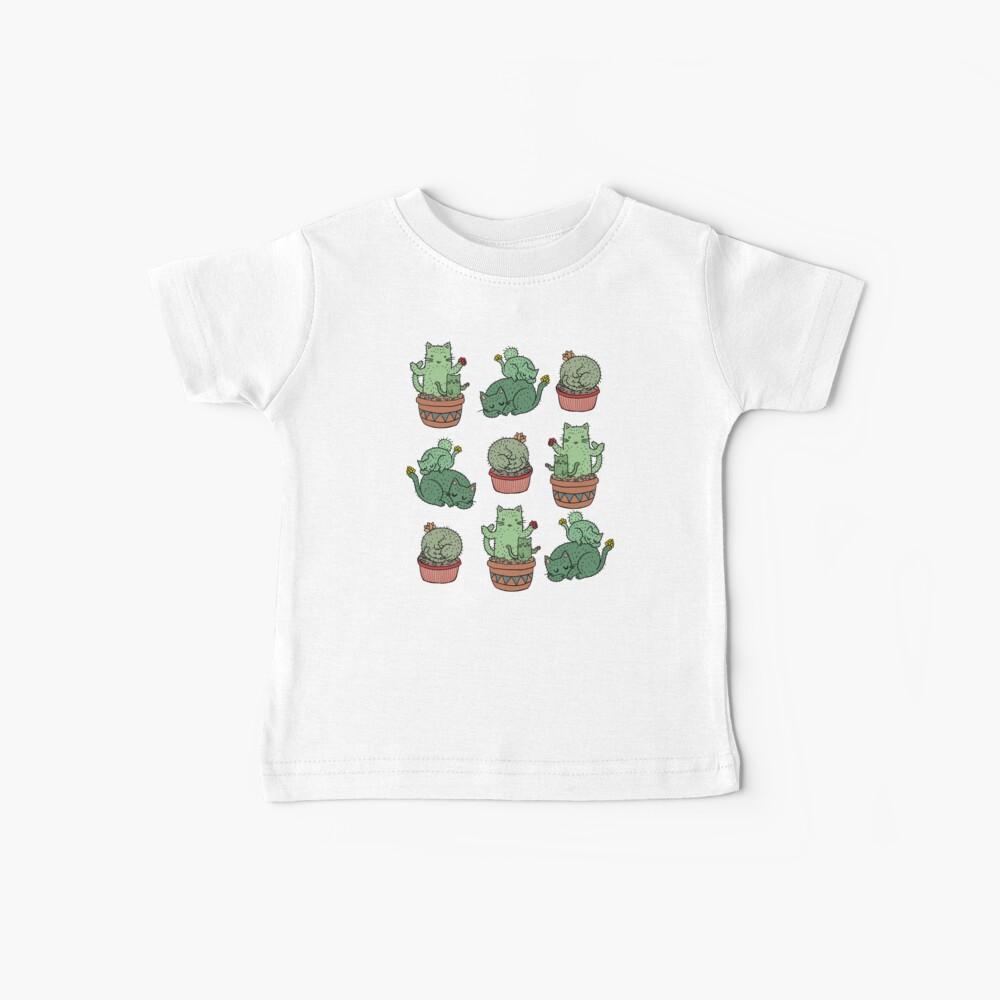 Cactus Cats Baby T-Shirt
