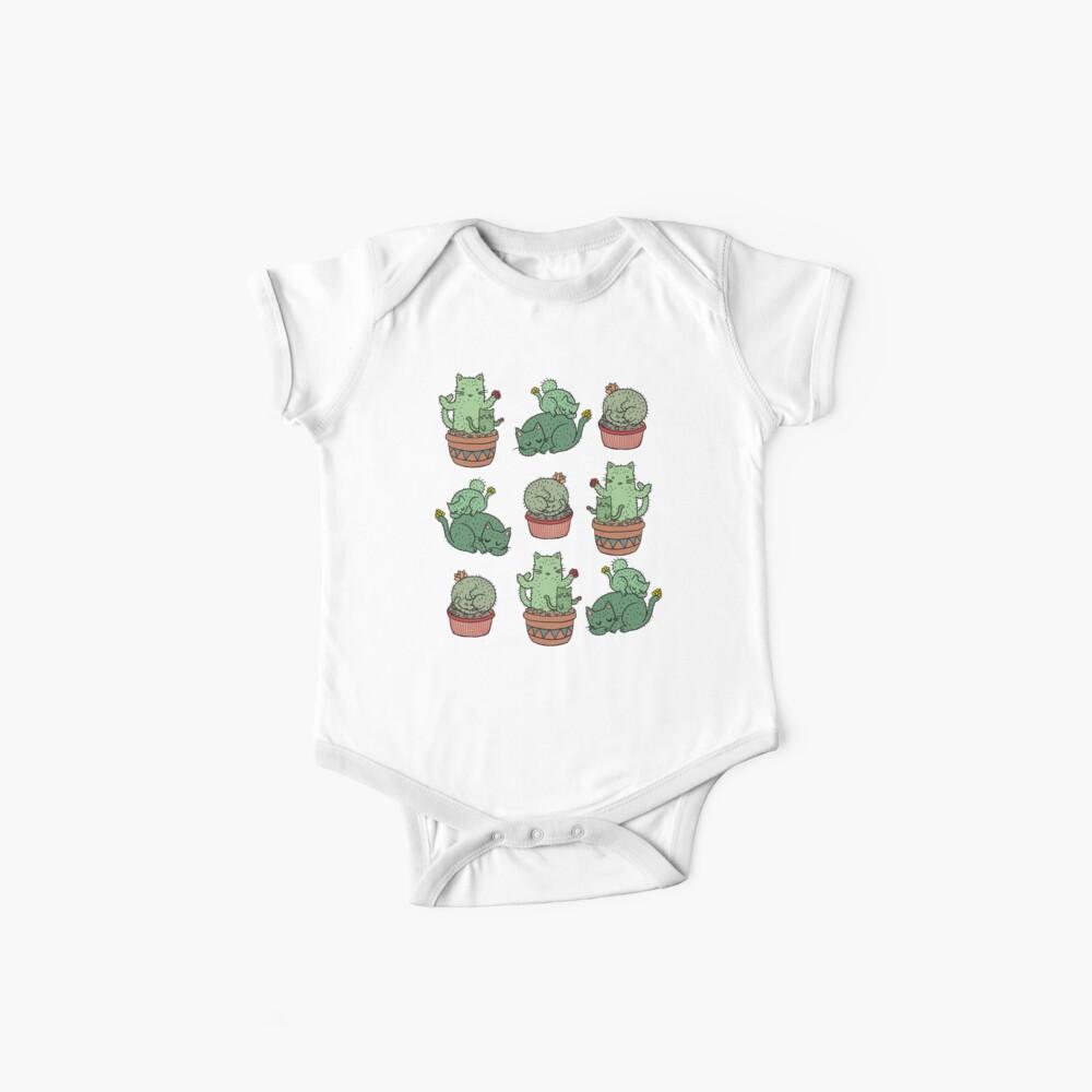 Kaktus Katzen Baby Bodys