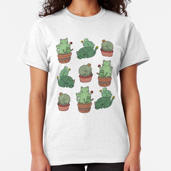 Cactus Cats Classic T-Shirt
