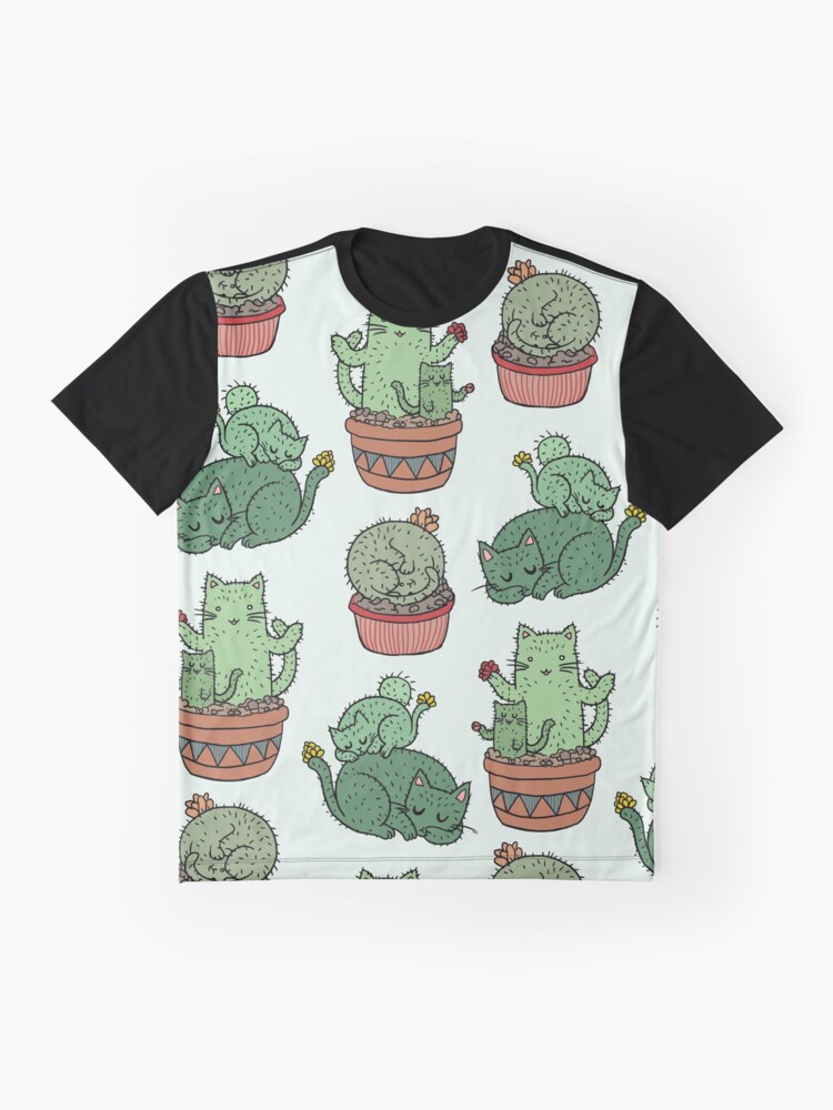 Alternate view of Cactus Cats Graphic T-Shirt