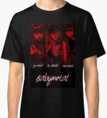 Babymetal- red & black Classic T-Shirt