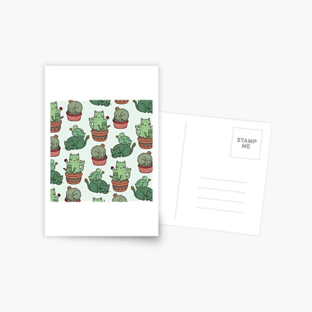Cactus Cats Postcard