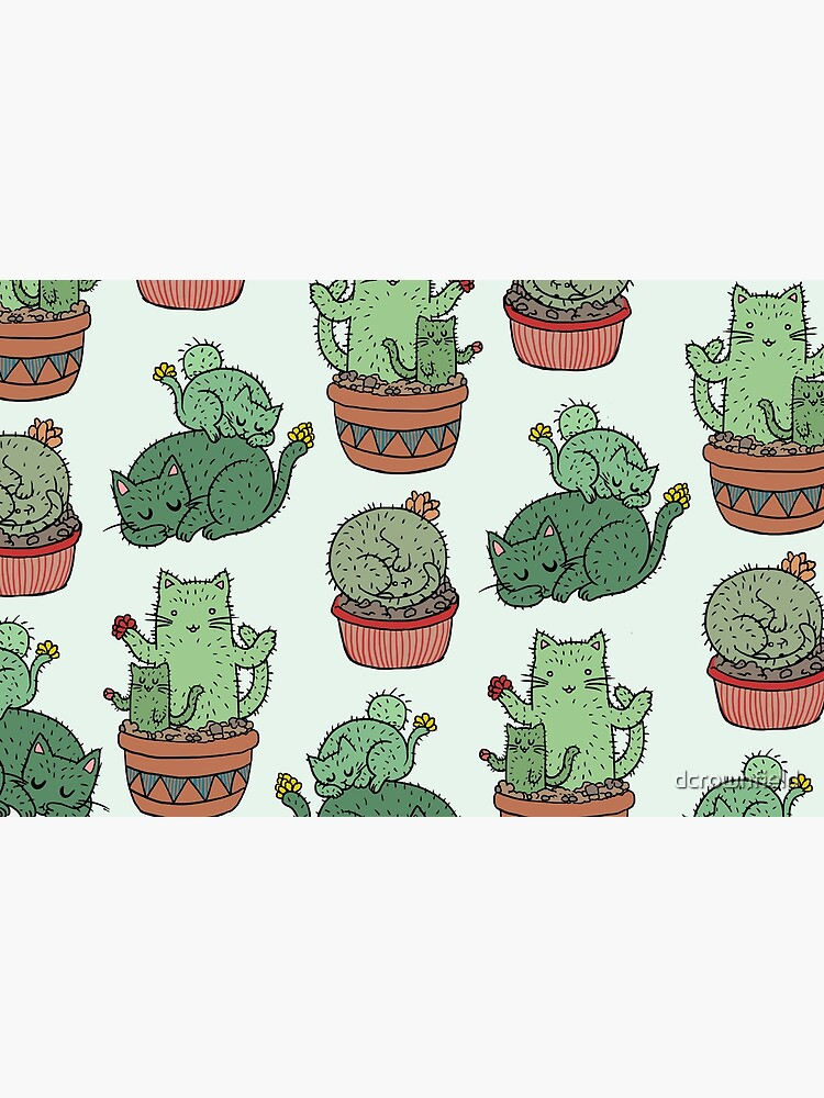 Cactus Cats by dcrownfield