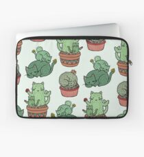 Kaktus Katzen Laptoptasche