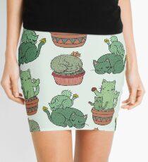 Kaktus Katzen Minirock