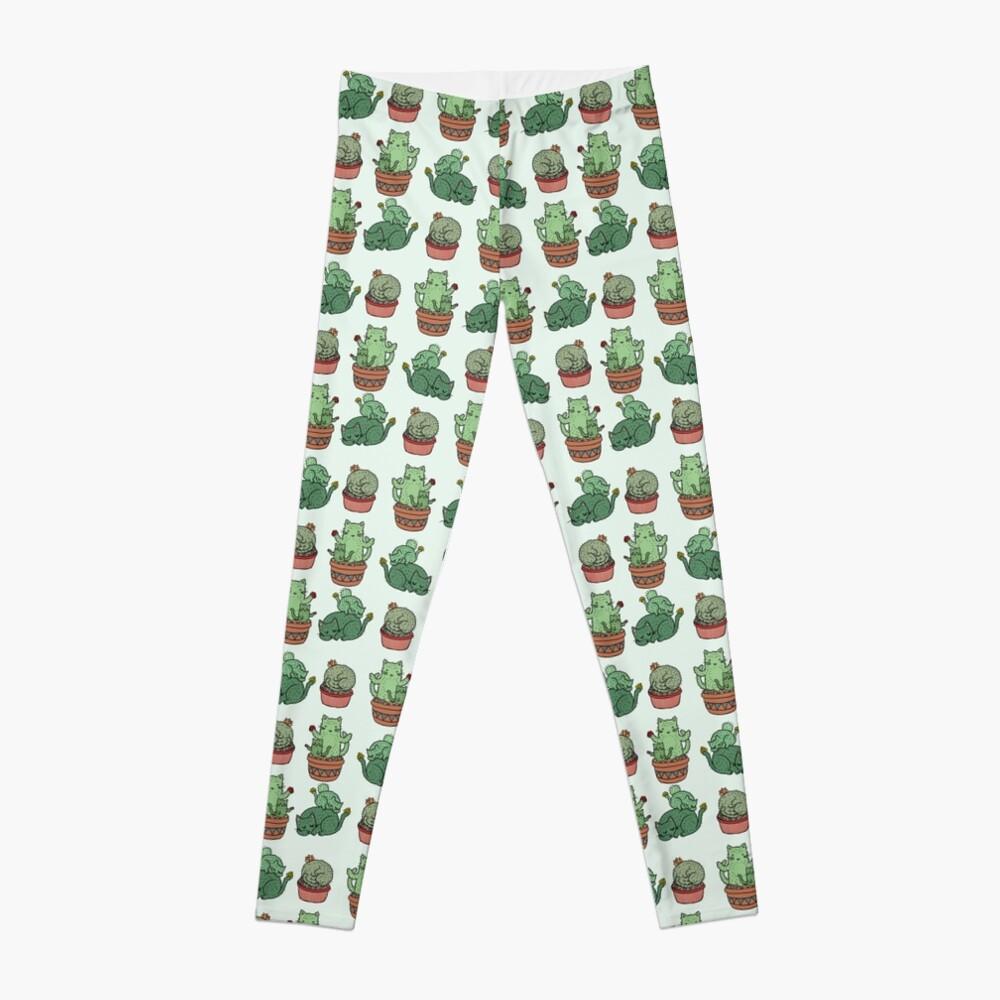 Kaktus Katzen Leggings