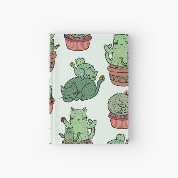Cactus Cats Hardcover Journal