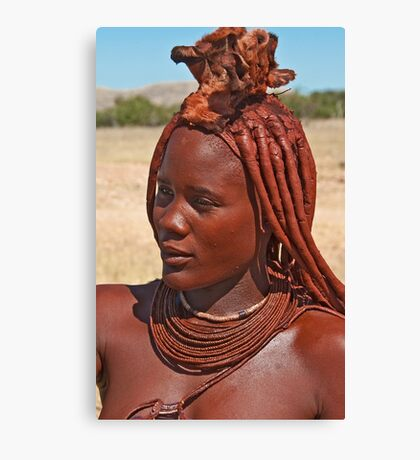 Himba People Canvas Print
