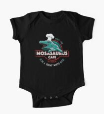 Visit the Mosasaurus Cafe One Piece - Short Sleeve
