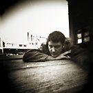 Pinhole Self Portrait by Mathew Reed