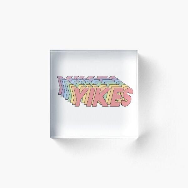 YIKES Acrylic Block