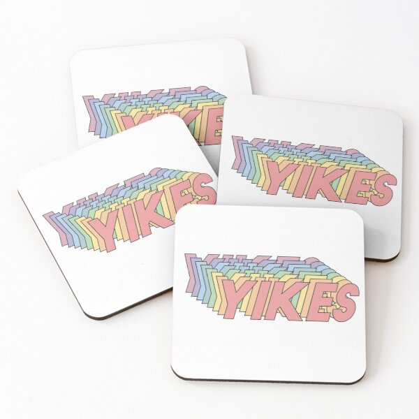 YIKES Coasters (Set of 4)