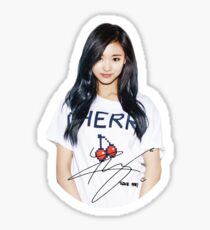 TWICE - TZUYU Signed Sticker