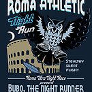 Bubo Owl is running at important event... by romansart