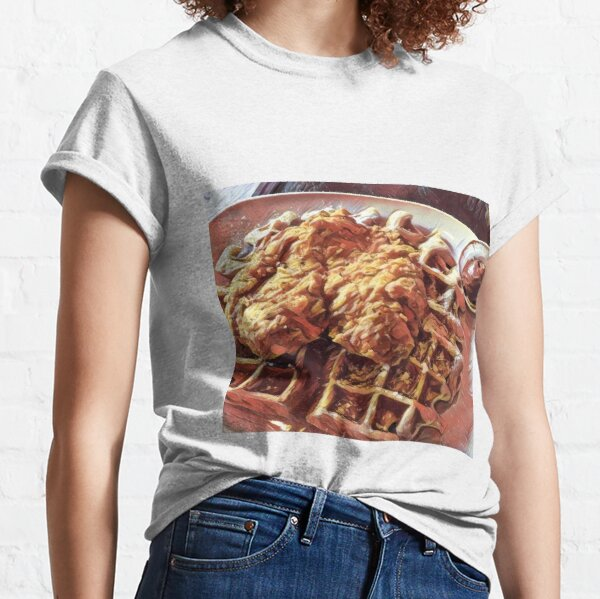 Chicken And Waffles T Shirts Redbubble