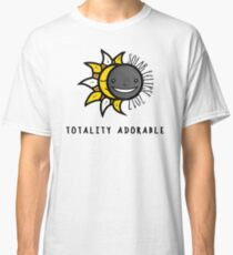 Solar Eclipse 2017 Shirt - Totality Adorable - August 21, 2017 - White Classic T-Shirt