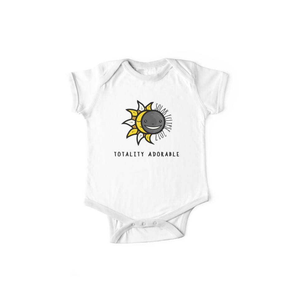 474b2fcb Solar Eclipse 2017 Shirt - Totality Adorable - August 21, 2017 - White