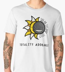 Solar Eclipse 2017 Shirt - Totality Adorable - August 21, 2017 - White Men's Premium T-Shirt