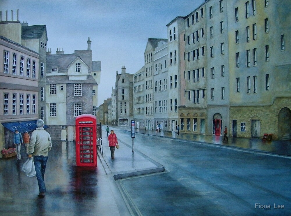 Edinburgh Calling by Fiona  Lee