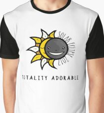 Solar Eclipse 2017 Shirt - Totality Adorable - August 21, 2017 - White Graphic T-Shirt