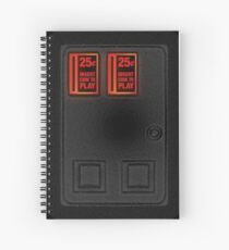 Arcade Coin Door Spiral Notebook