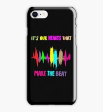 EQUALIZER MUSIC HEART iPhone Case/Skin