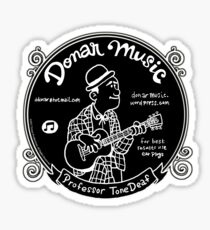 Donar Music Sticker