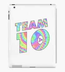 Team 10 Tie Dye Jake Paul iPad Case/Skin